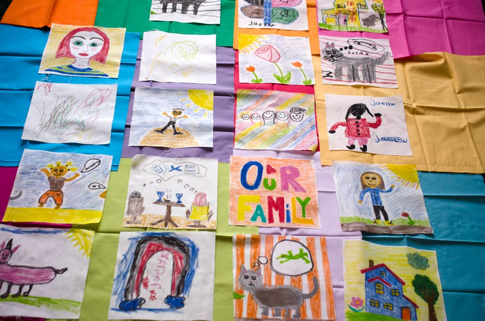The Making of a Family Quilt: Part One