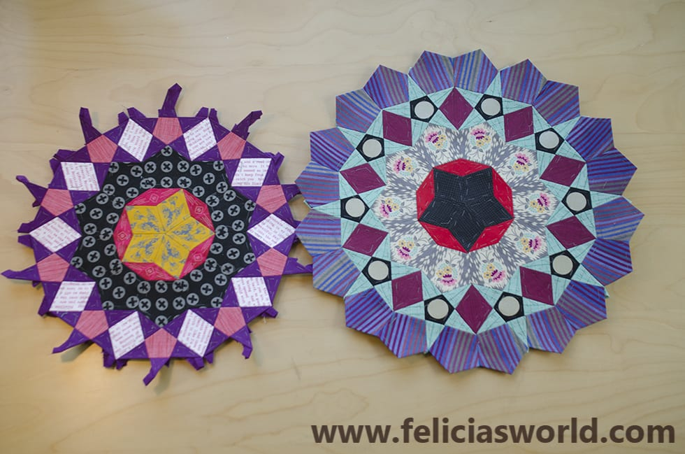 New English Paper Piecing Class at Mad B's Quilt Shop