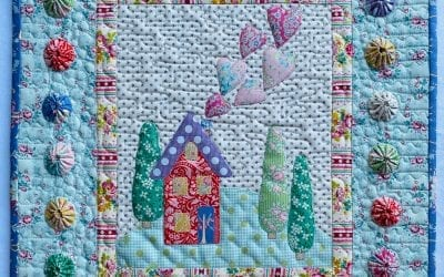 Where Love Lives Free Applique Pattern