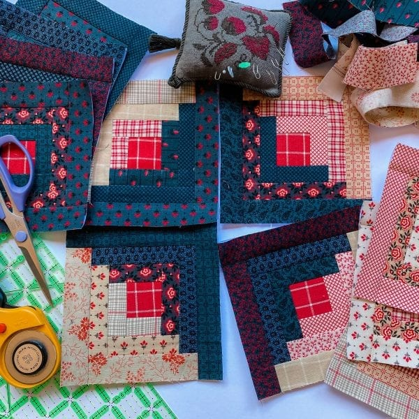 Log Cabin Paper Piecing Foundations