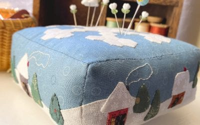 Quilt 12 Collectible Pincushion Patterns in 2021!