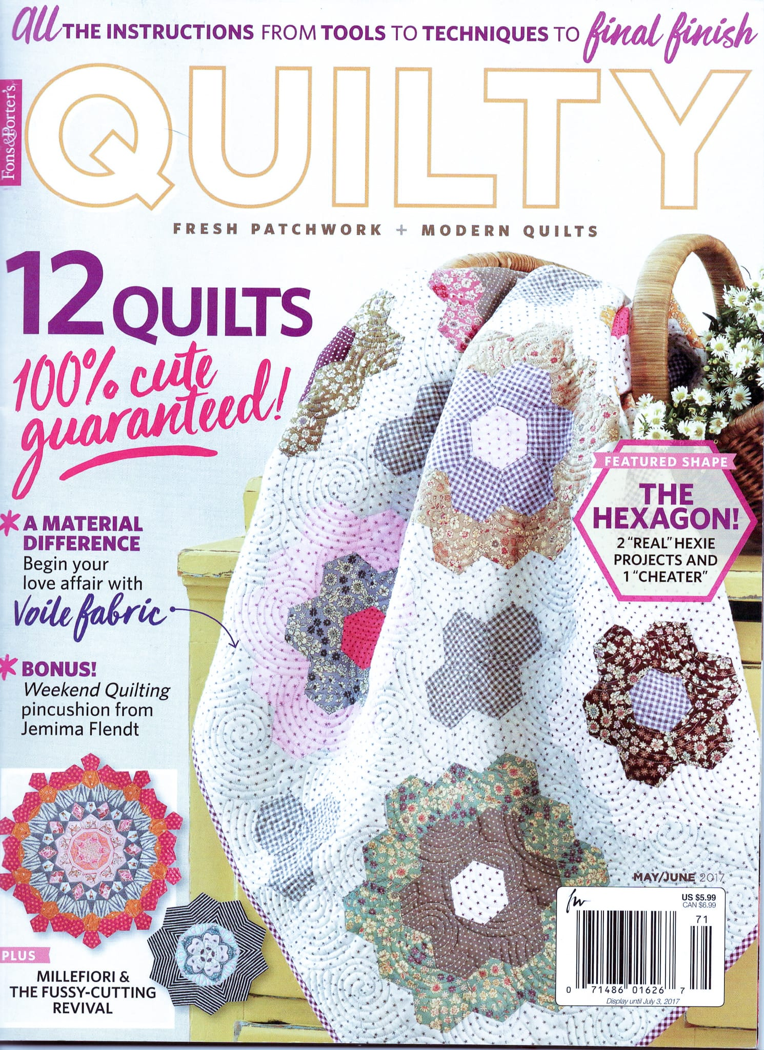 Quilty May June 2017
