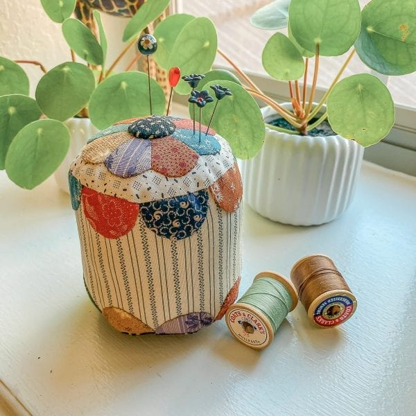 quilted pincushion
