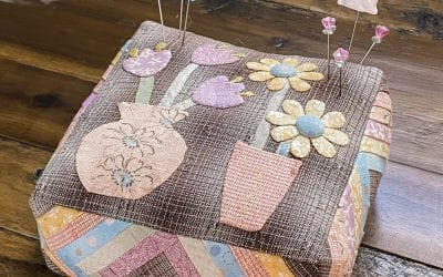 Springy March Pincushion PDF Quilt Pattern