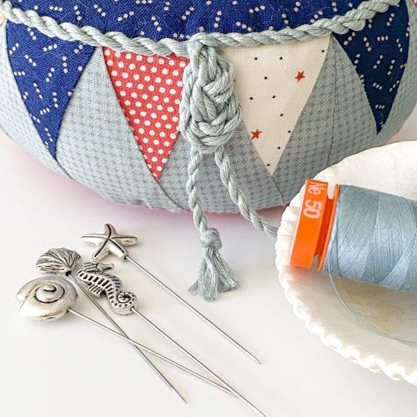 may quilted pincushion