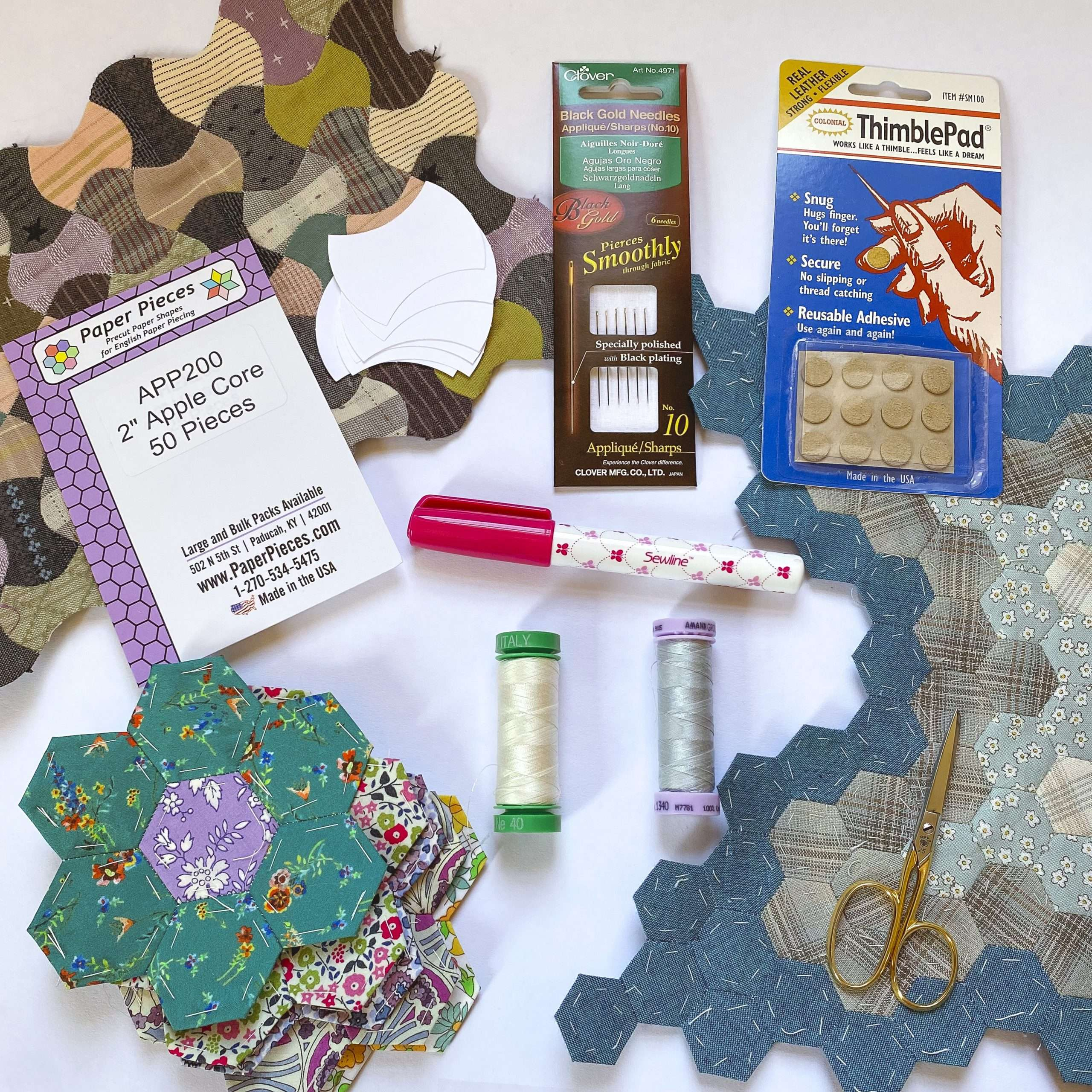 tools for english paper piecing