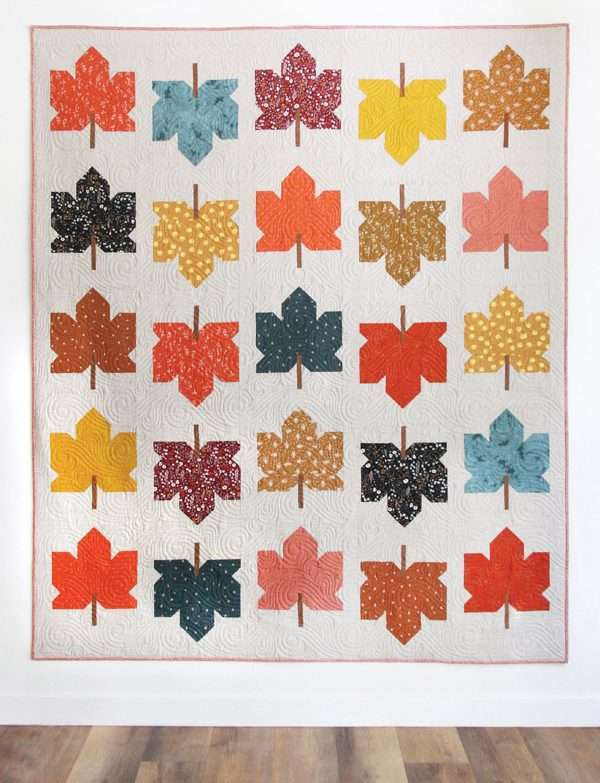 maple fall quilt pattern