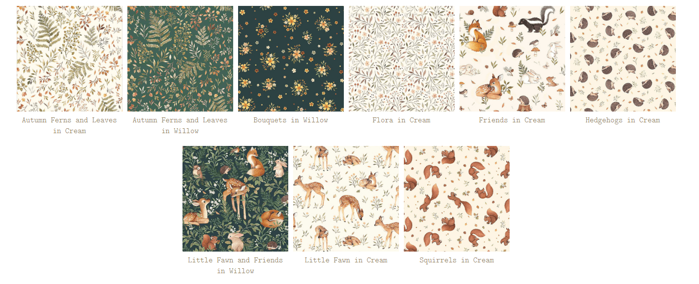 little fawn fabric