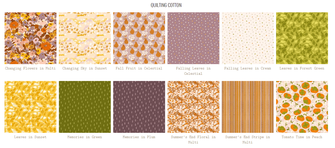 summer end fabric