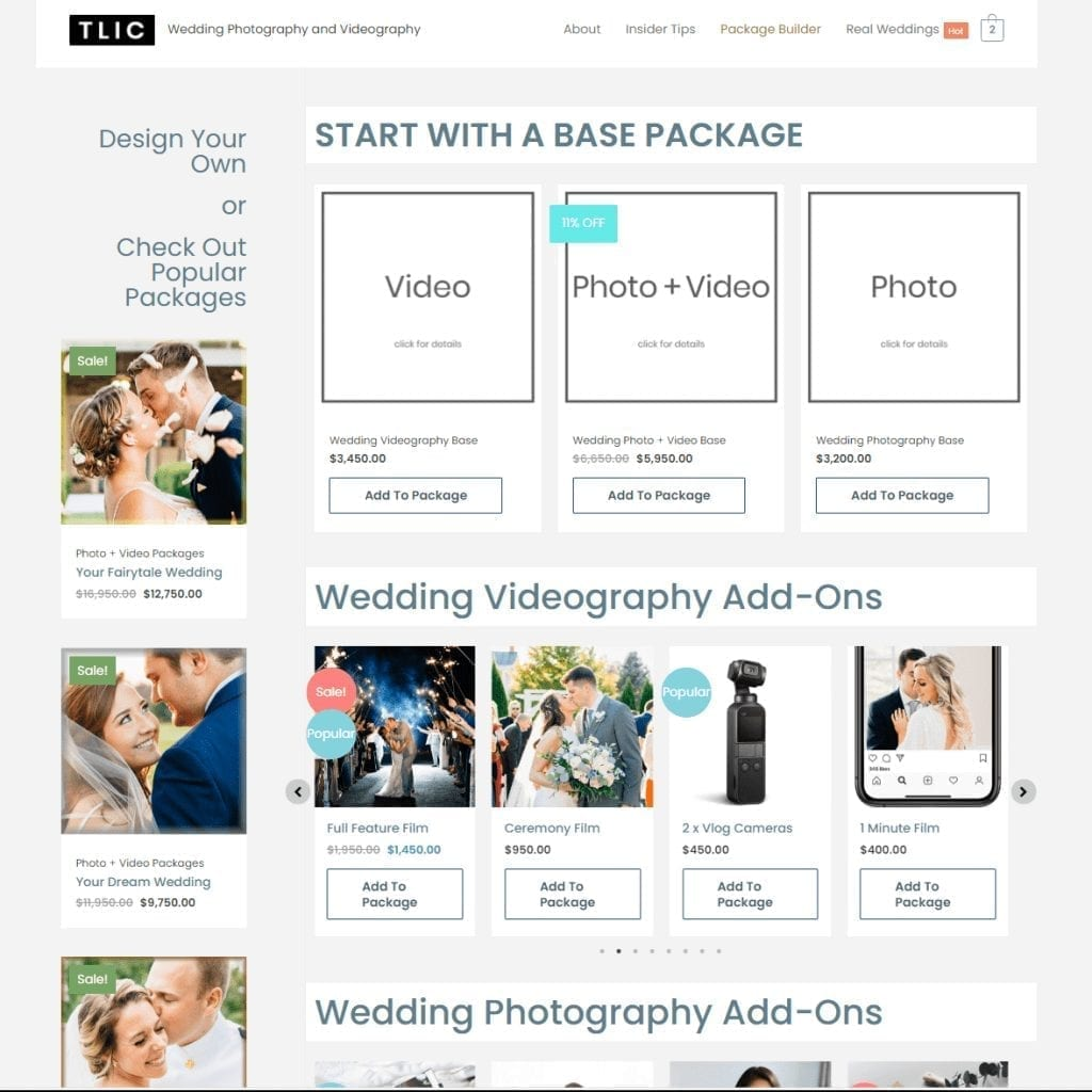 Wedding Photography Videography Packages e1599758517195