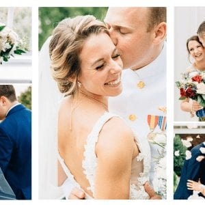Maryland Wedding Videography Photography Collage