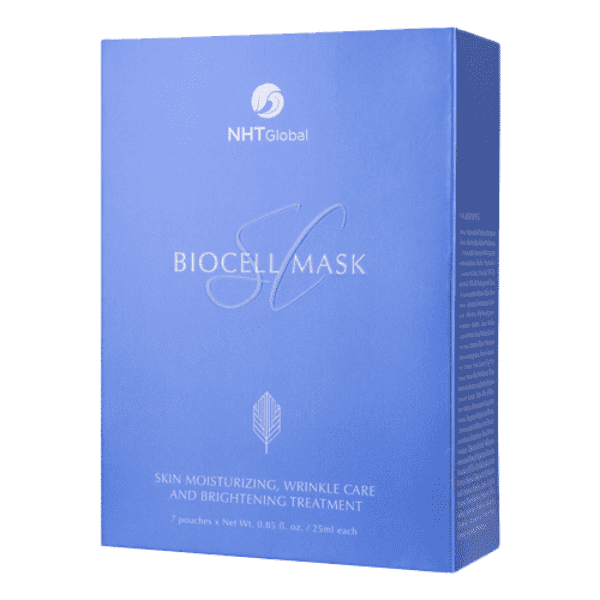 Skindulgence BioCell Mask SC | Korean Sheet Facial Mask | Wrinkle Care | Brightening Treatment