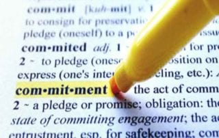 Commitment to Succeed 1st Step for Successful Entrepreneurs